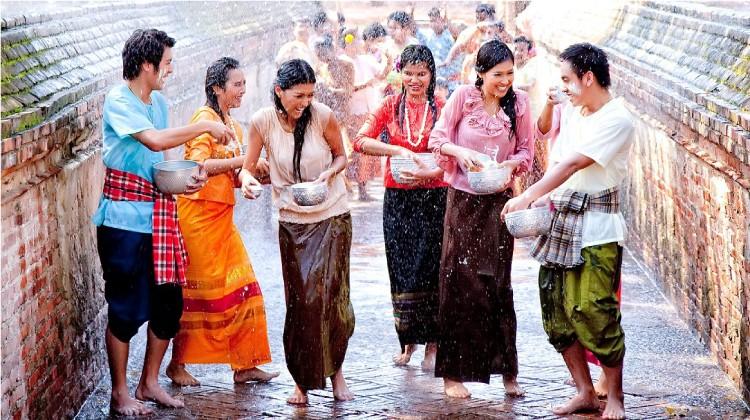 Songkran Water Fesitival Bangkok